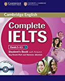 Complete IELTS Bands 5–6.5 Student's Book with Answers with CD-ROM
