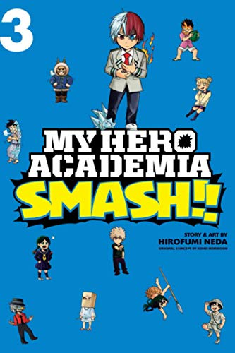 """Composition Notebook: My Hero Academia Smash Vol. 3 Anime Journal-Notebook, College Ruled 6"""" x 9"""" inches, 120 Pages"""