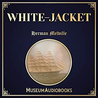White-Jacket audiobook cover art