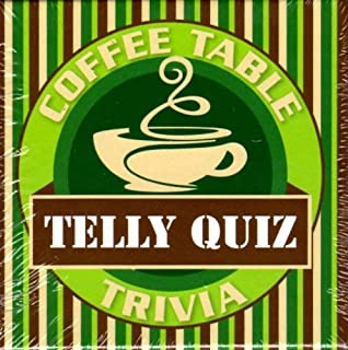 Cheatwell Coffee Table Card Game, Telly Quiz Trivia
