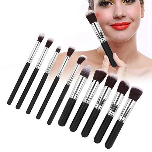 Make-up-Pinsel-Set, 10 Stück/Kit Ultraweiches synthetisches Gesichtspuder Foundation...