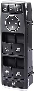 Power Window Switch Driver Side Master Control Switch Fits 2013-2014 Mercedes-Benz C250 2013-2014 Mercedes-Benz C300 C350 C63 2013-2014 E350 2015-2016 E400 2013-2016 E550 2014-2015 GLK350 GLK350