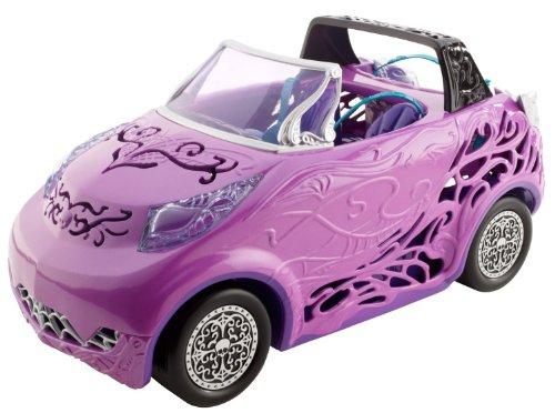 Mattel Monster High Scaris - Coche descapotable de Juguete (