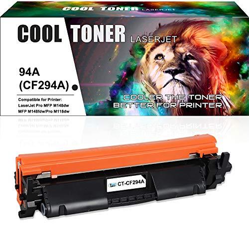Cool Toner Compatible Toner Cartridge vervangende voor HP CF294A CF294X Toner voor HP Laserjet Pro MFP M148dw M148fdw M149fdw Pro M118dw Toner, 1 zwart, 1200 pagina's