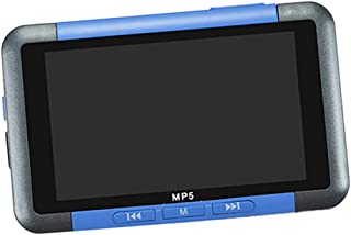 "Prettyia New 32GB MP5 MP4 Blue MP3 Player - 3""Direct Playback Video Screen"