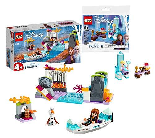 Collectix Lego Disney Frozen 41165 Annas - Juego de 2 accesorios para piragüismo y trono de Elsa's Winter Throne 30553