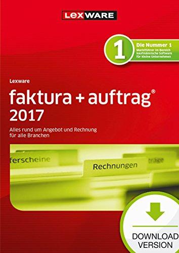 Lexware faktura+auftrag 2017 basis-Version PC Download (Jahreslizenz) / Einfache Auftrags- & Rechnungs-Software für alle Branchen / Kompatibel mit Windows 7 oder aktueller