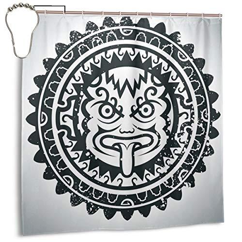 xiaolang Ilustración Vectorial de la máscara de un Inca.