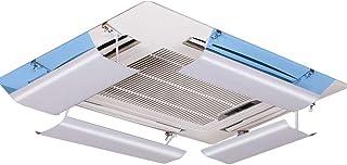 Deflector de aire acondicionado para aire acondicionado central en el techo,controlando el ángulo del aire caliente,permitiendo que el aire caliente circule rápidamente en interiores,fácil de instalar
