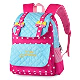 Vbiger School Bags Kids Backpack Toddler Backpack Waterproof Lightweight Backpack Book Bag for Primary School Girls (blue)