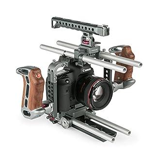ikan ES-T17 Sony Alpha Series Handheld Camera Cage Rig for The a7R/a7RII/a7S and a7SII (Black) (B019H3B3C4)   Amazon price tracker / tracking, Amazon price history charts, Amazon price watches, Amazon price drop alerts