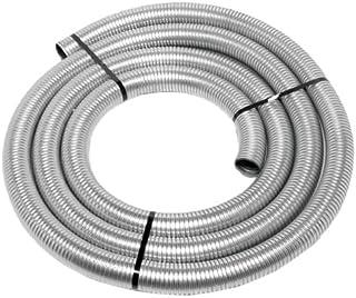 """Walker (40002) 1-1/2"""" Diameter - 25` Long Galvanized Flex Tube"""