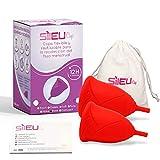 Copa Menstrual Sileu Cup Rose - Modelo de iniciación para...