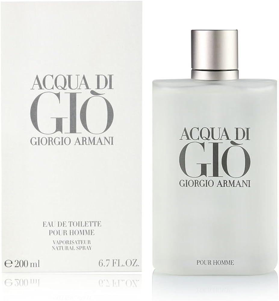Giorgio armani acqua di giò,eau de toilette per uomo, 200 ml GA207850