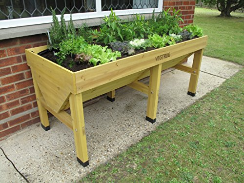Rasied herb planter, ideal for working off the ground