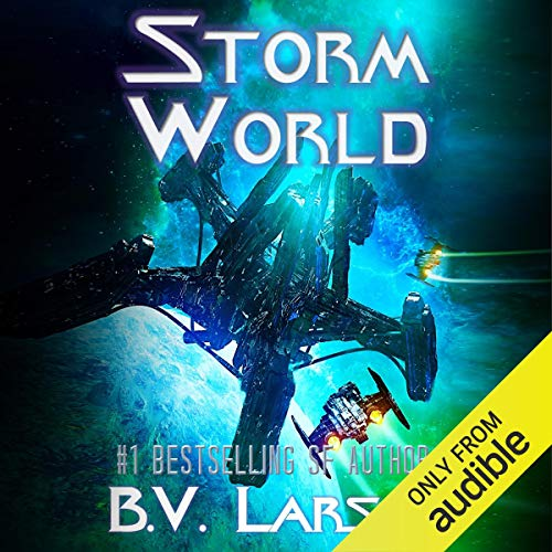 Storm World audiobook cover art