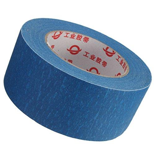 ILS - 50mmx50m 50mm stampante 3D Blue Tape Reprap Bed nastro adesivo nastro per Parti stampante 3D