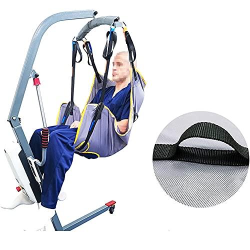 5186UMYmYvS. SL500  - LHZHG Arnés para traslados, Cinturón de Transferencia - Grúa de Paciente - Paciente Cinturón De Transferencia para Bariátrico, Enfermería, Anciano, Discapacitado, Cuerpo Completo Y Postrado En Cama