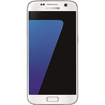 Samsung Galaxy S7 Smartphone débloqué 4G (Ecran : 5,1 pouces - 32 Go - 4 Go RAM - Simple Nano-SIM - Android) Blanc (Import Allemagne)