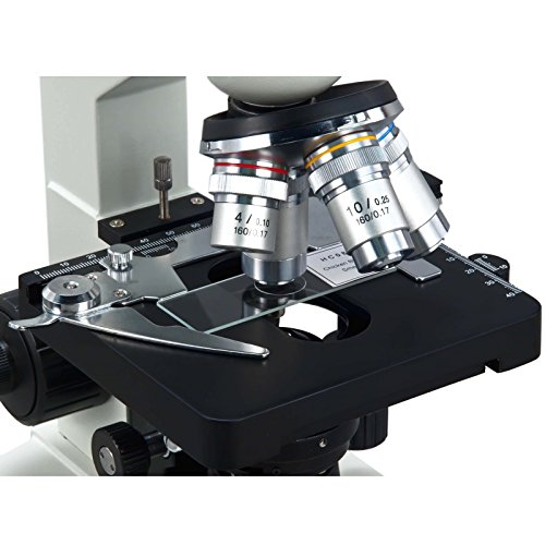 OMAX 40X-2500X LED Digital Trinocular Lab Compound Microscope with 5MP Camera and Mechanical Stage