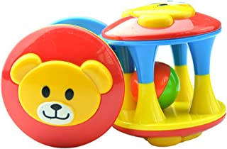 Anniston Kids Toys, Funny Cartoon Bear Grasping Rattle Ball Jingle Bell Educational Intellectual Toy Baby Toys for Childre...