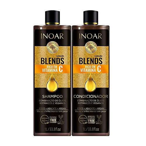 Inoar Kit Blends Vitamin C Shampoo + Conditioner Kit 1L