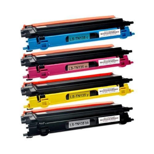 Logic-Seek 4 Toner kompatibel für Brother TN-135 schwarz DCP-9040 9042 9045 CN CDN HL-4040 4050 4070 CDNLT CN CDN CDW MFC-9440 9445 9450 9840 CDW CN CDN CLT