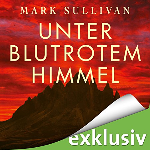 Unter blutrotem Himmel audiobook cover art
