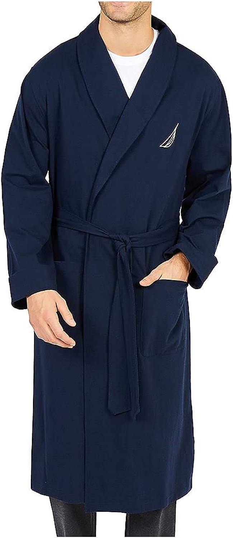 Nautica Men's Knit Robe at  Men's Clothing store