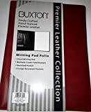 Buxton Premier Leather Classic Pad Folio & Writing Pad