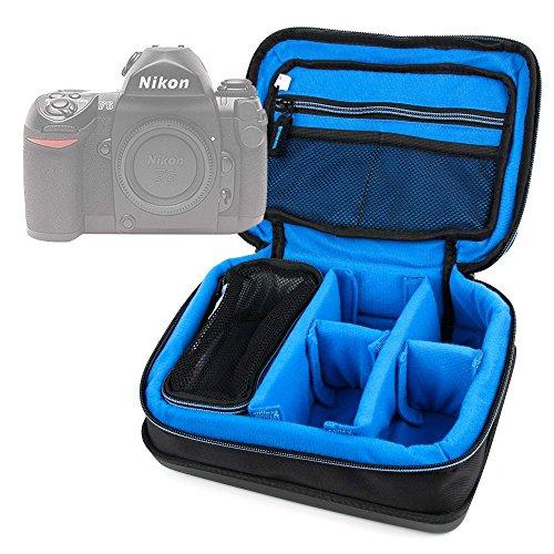 DURAGADGET Bolsa Acolchada Profesional Negra con Compartimentos para Cámara Nikon FAA410NA | N1 AW1 | Olympus E-PL7 (1442) | Zenit E Cámara