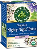Traditional Medicinals Organic Nighty Night Valerian Relaxation Tea,...