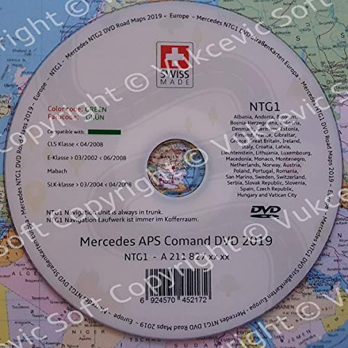 Mercedes Navigation Update DVD 2019 NTG1 E KLASS CLS