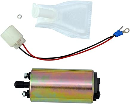 CUSTOM 1pc New Electric Intank Fuel Pump With Installation Kit For Mazda Geo Acura Infiniti Mitsubishi
