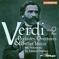 Verdi;Overtures/Ballet Musi