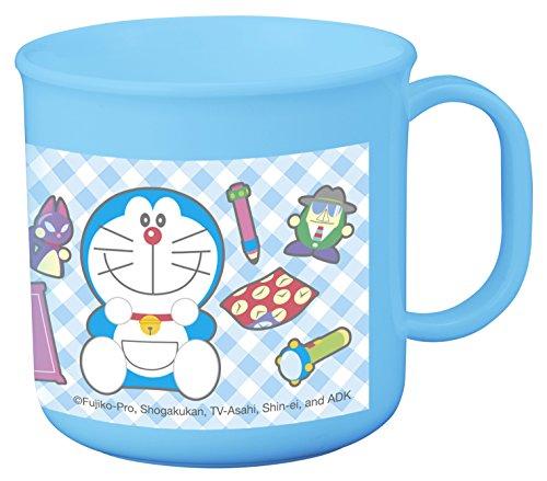 OSK Doraemon - Taza (plástico, 200 ml), Color Azul