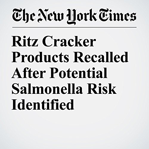 Ritz Cracker Products Recalled After Potential Salmonella Risk Identified copertina