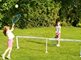 Traditional Garden Games - Filet de tennis Jumbo avec raquettes et balle