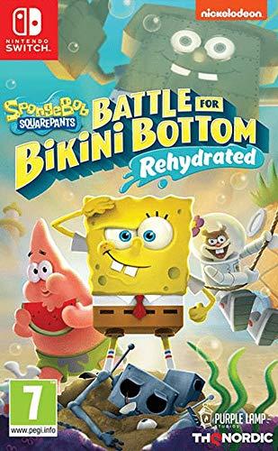 Spongebob SquarePants: Battle for Bikini Bottom - Rehydrated (Switch) - [AT-PEGI]