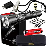 klarus XT11X Super Bundle Includes 3200 Lumen Tactical Rechargeable...