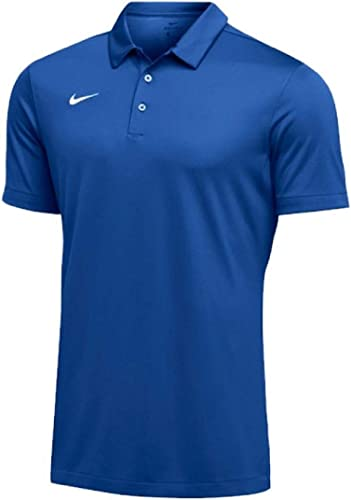 Nike Pour des hommes Dri-FIT manche courte Polo Shirt (grand, Royal)