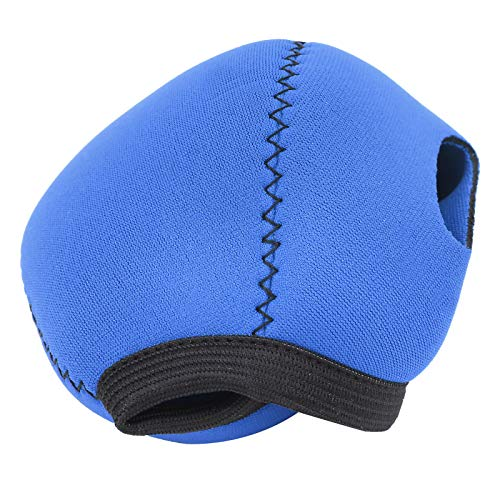 KUIDAMOS Cubierta Impermeable con Correa de Bucle Tipo Bucle Cubierta reguladora Suave y cómoda Resistente al Desgaste, para Accesorios de Buceo(Blue)