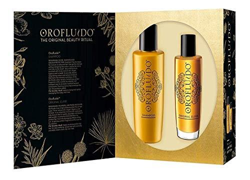 Orofluido BF-8432225105703 Pack Elixir 100 ml + Shampoo 200 ml