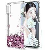 LeYi für Samsung Galaxy A10 Hülle Galaxy M10 Glitzer