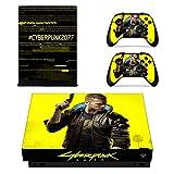 Cyberpunk Xbox One X Skin, Controller Skin,Xbox One x Skins para consola, pegatina para set Faceplates
