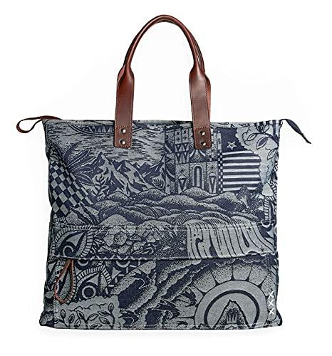 Scotch & Soda Shoulder Bag Combo A Jacquard