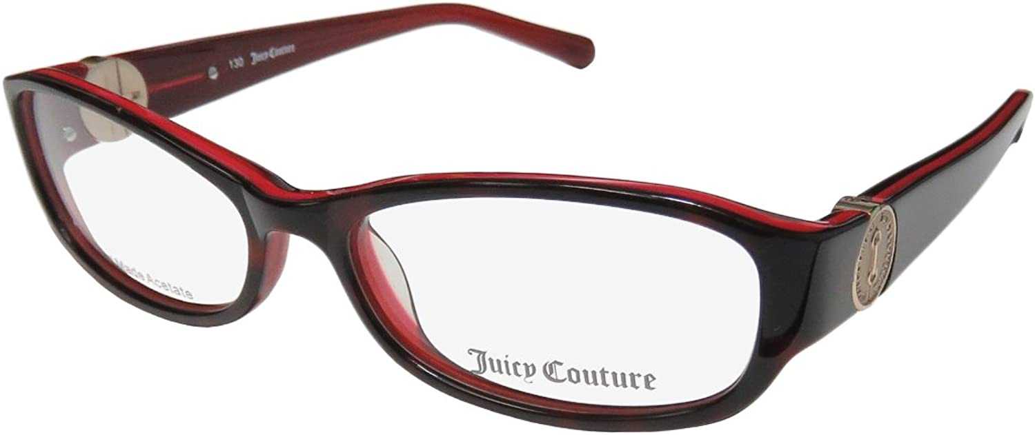 JUICY COUTURE Eyeglasses 120 0FX2 Tortoise Red 52mm