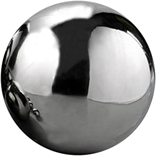 Aneil Stainless Steel Gazing Ball Seamless Mirror Balls Sphere Hollow for Outdoor Garden (3.15 Inch)