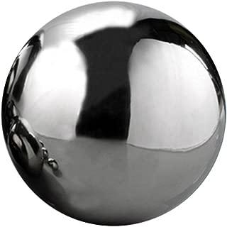 Aneil Stainless Steel Gazing Ball Seamless Mirror Balls Sphere Hollow for Outdoor Garden (4 Inch)