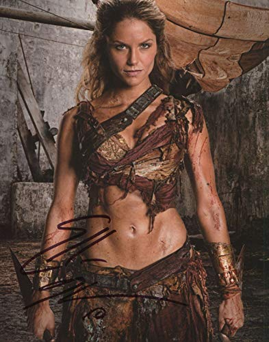 Ellen Hollman Signed Autograph Spartacus Saxa 8x10 Photo With COA pj2